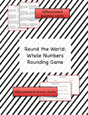 Round the World Rounding Game {Differentiated}