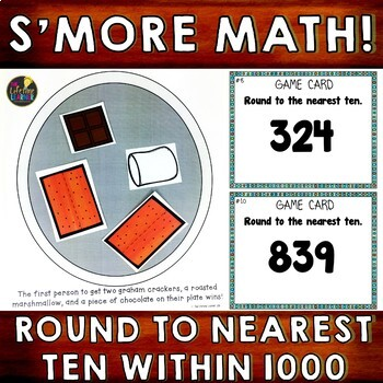 Round to Nearest Ten Within 1000
