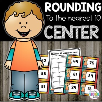 Round to the Nearest 10 (2 Digit Numbers)