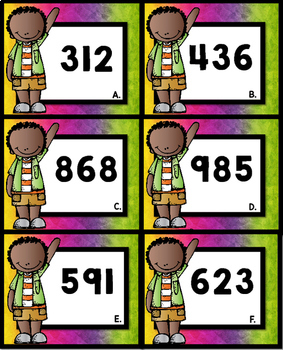 Round to the Nearest 10 (3 Digit Numbers)