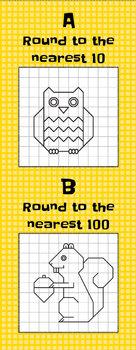 Rounding: Nearest Ten or Hundred