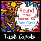 Round to the Nearest Hundred Task Cards