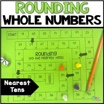 Round to the Nearest Ten Board Game