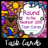 Round to the Nearest Thousand Task Cards