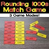 Rounding 1000s Match Game