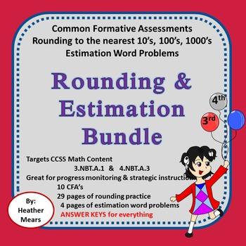Rounding Bundle 10's 100's 1000's Estimation Common Format
