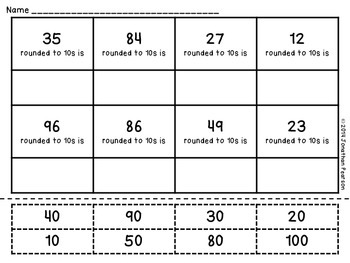 Rounding 10s and 100s Sort Bundle - Contains 8 Different Activities
