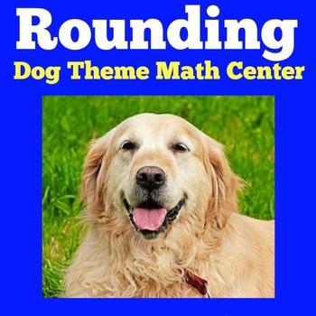 First Grade Math Center Activity   Rounding Numbers Math Center