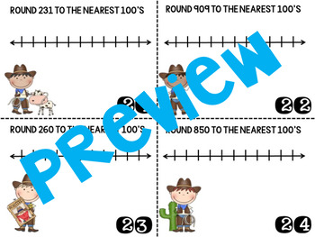 Rounding to the nearest 10 and 100- Rodeo