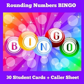 Rounding Game | Rounding Numbers Activity | BINGO