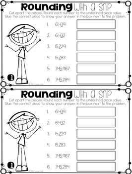 Rounding Interactive Booklet