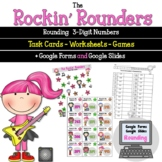 Rounding 3 Digit Numbers with the Rockin Rounders