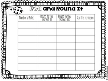 Rounding Tens and Hundreds