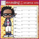 Rounding with Number Lines - Nearest 10