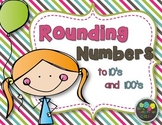 Rounding numbers: Task Cards
