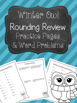 Rounding Practice and Word Problems