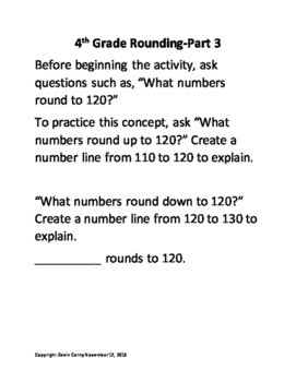 Rounding whole numbers