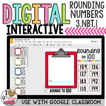 Rounding 3 digit numbers for Google Classroom