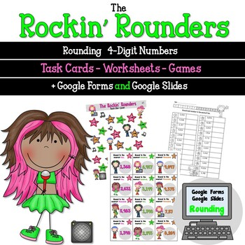 Rounding 4 Digit Numbers with the Rockin Rounders