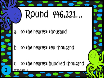 Rounding 6 digit numbers