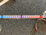 Rounding: A Visual Number Line (Color Coded)