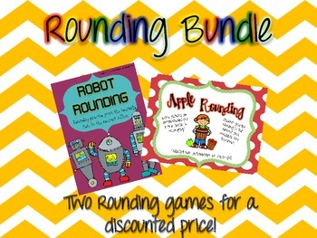 Rounding Activities Bundle Packet (Common Core Aligned)