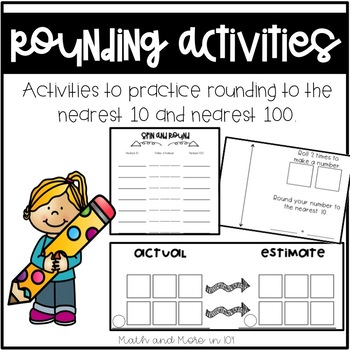 Rounding Activities and Workmats
