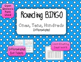 Rounding Game - BINGO - Ones, Tens, Hundreds {Differentiated}
