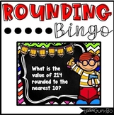 Rounding BINGO - Rounding to the nearest 10 & 100 game