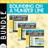 Rounding BUNDLE for Google Classroom: Rounding Number Line