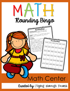 Rounding Bingo {Math Center}