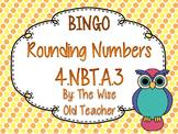 Rounding Bingo Game PowerPoint with Blank Bingo Cards 4.NBT.A.3