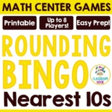 Rounding Bingo Game- To the Nearest Tens