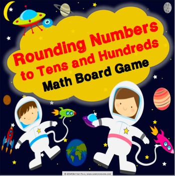 Rounding Activity: Rounding to Tens and Hundreds Game (3.NBT.1)