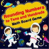 3rd Grade Rounding to the Nearest 10 and 100 Game {3.NBT.1}