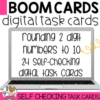 Rounding Boom Cards (2 digits to the nearest 10)