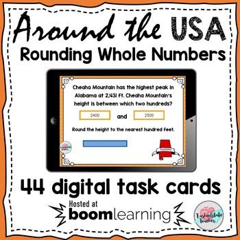 Rounding Boom Cards | Rounding Tens, Hundreds, Thousands