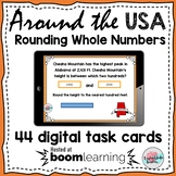 Rounding Boom Cards | Rounding Tens, Hundreds, Thousands