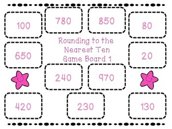 Rounding Bump (Tens & Hundreds) Grade 3