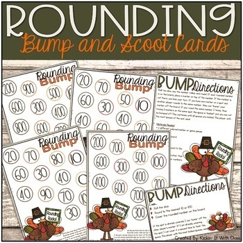 Rounding Bump and Scoot {Thanksgiving Themed}
