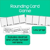 Rounding Card Game