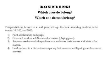 Rounding Center