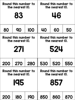 Rounding Clip Cards