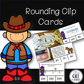 Rounding Clip Cards 3.NBT.1