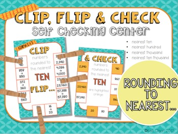 Rounding: Clip, Flip, and Check Cards