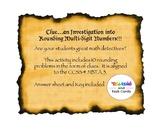 Clue - An Investigation into Rounding Multi-digit Numbers
