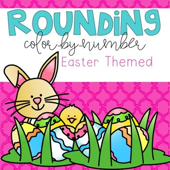 Rounding Color-By-Number Easter Themed