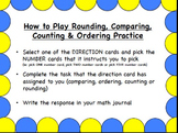 Rounding, Comparing, Ordering and Counting Activity