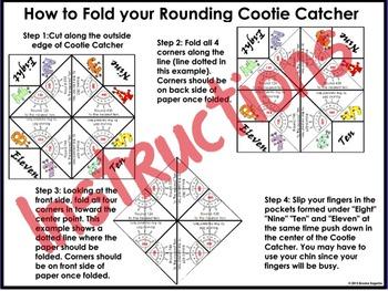 "Rounding Activity ""Cootie Catchers"""
