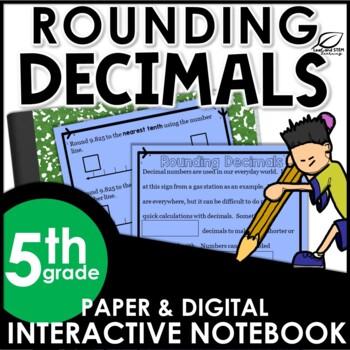 Rounding Decimal Interactive Notebook Set
